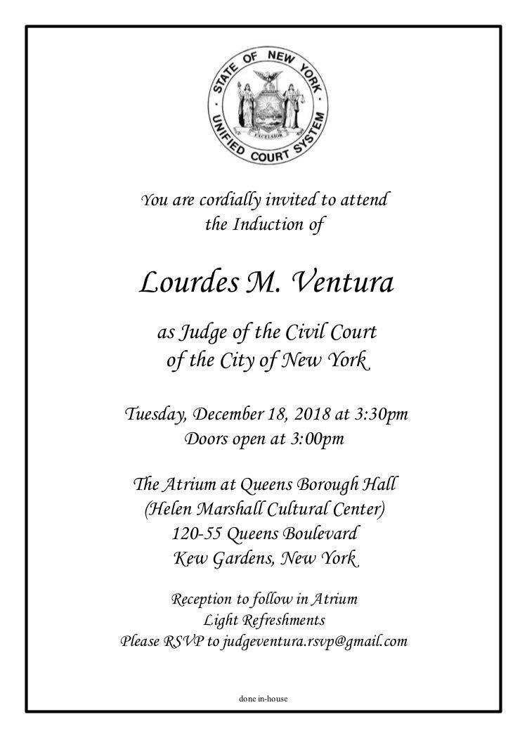 LMV Induction Invite